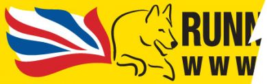 Sticker: UK Running with Dogs